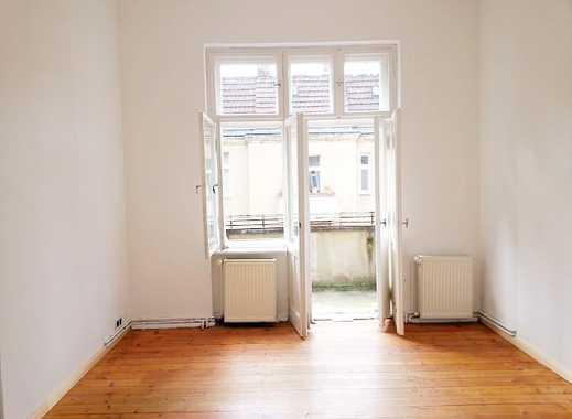 Gesundbrunnen! Charmante 2 Zimmerwohnung - abgezogene Dielen - Balkon - WG - ca. 59 m² - 699 € + HK