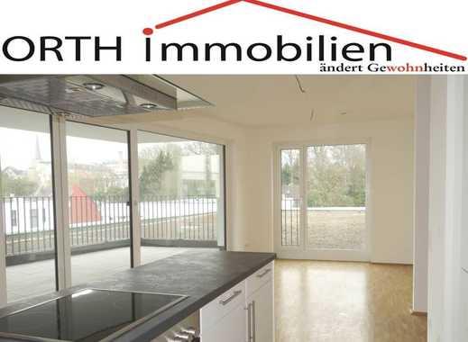 Schicke 3 Zimmer Neubauwohnung mit EBK u. großer Sonnenterrasse