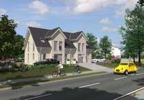 Neubau Doppelhaus mit Kapitänsgiebel