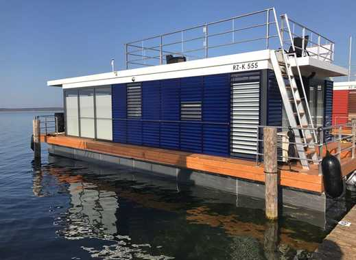 Hausboot komplett eingerichtet mit einmaligem Blick auf den Fleesensee
