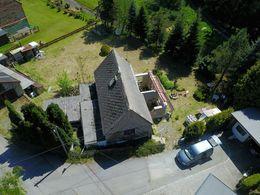 Luftbild Baugrundstück/ Rohbau