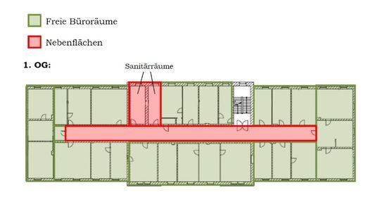 Grundriss 1 Obergeschoss, m...