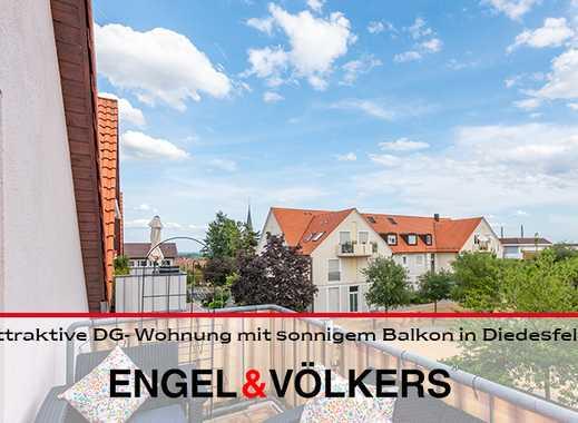 Attraktive Dachgeschosswohnung mit sonnigem Balkon in Diedesfeld!