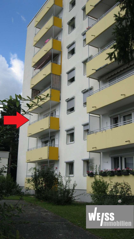 stadtnahe 1 Zimmerwohnung mit Balkon und EBK in