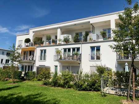 Exkl., komplett möblierte 2-Zi.-EG-Terrassen-Whg. in Toplage von Herrsching in Herrsching am Ammersee (Starnberg)