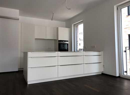 Erstbezug: Zentrumsnahe 3-Zimmer-Wohnung mit Aufzug, Einbauküche, Balkonen und TG in Stuttgart-West