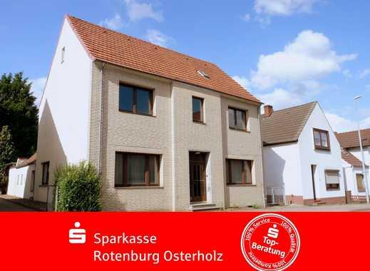 Osterholz-Scharmbeck: Freistehendes 1-2 Familienhaus in äußerst zentraler Lage