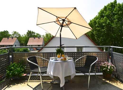 Top-moderne möblierte 2-Zimmerwohnung mit Balkon -direkt im Zentrum Weil am Rhein / Basel