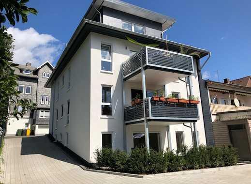 NEUBAU - ERSTBEZUG SENIORENGERECHTE - Appartement-Wohnung in zentraler, ruhiger Lage in Netphen