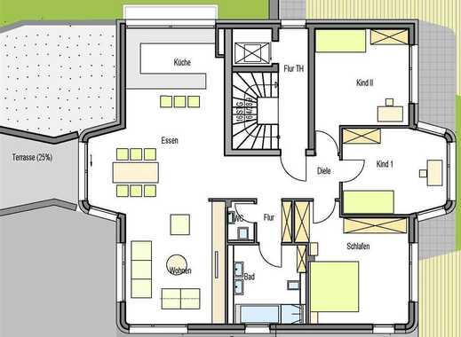 barierefreie 4 Zimmer Etagenwohnung, exklusiv ausgestattet, mit großer Terrasse und Gartenteil