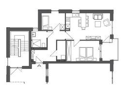 Grundriss Wohnung 1