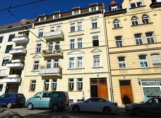 Sanierter Altbau. Sehr schöne, großzügige 3-Zimmer-Wohnung in München - Nymphenburg/Neuhausen.