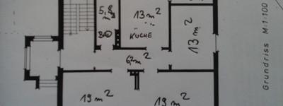 Schöne 3,0-Zimmer-Wohnung mit Normaler Innenausstattung in Minden