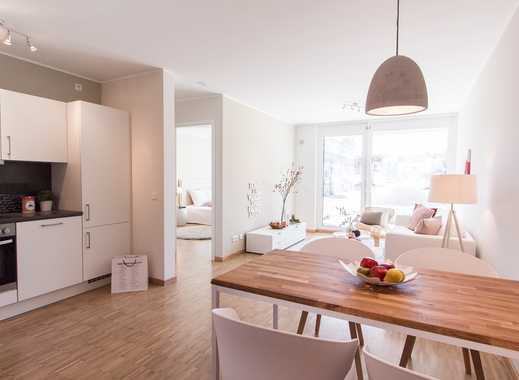 Großzügige 42 m² Dachterrasse! Modernes 3-Zimmer-Penthouse mit ca. 25 m² Wohn-/Ess-/Kochbereich