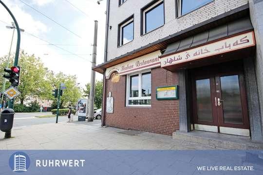 Hausansicht von Flexibel nutzbare Bürofläche in exponierter Lage von Essen Huttrop!