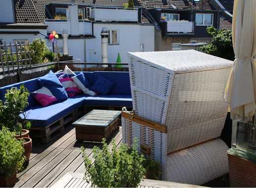3,5 Zimmer Maisonette-Wohnung mit 40 qm Dachterasse auf der Nordstr.