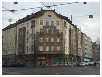 Bild Laden an stark frequentierten Kreuzung in Nürnberg Süd