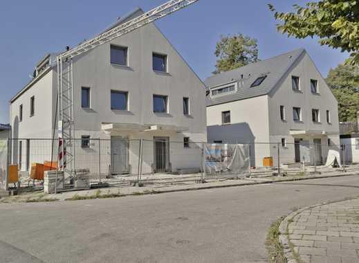 Kleines Neubauwohnenseble: 4 DHH in der Waterloostraße in Forstenried