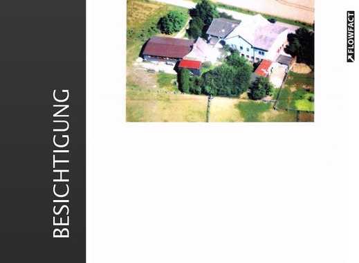 Resthof mit Wohnungen, Gerätehalle, Stall, Nebengelass und 2,9 Hektar Land sucht neuen Hausherrn!