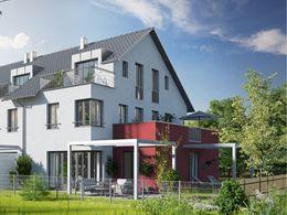 Modernes Terrassenhaus