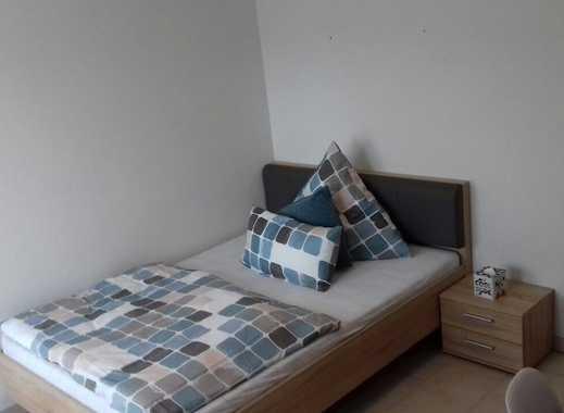 Neueröffnung: Businessapartment mit Bad und Küche, 1,40mx2,00m Bett, Full-HD TV mit Sky-Pay-TV, WLan