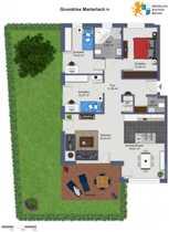 Garten inklusive 4 Zimmer-Eigentumswohnungen mit