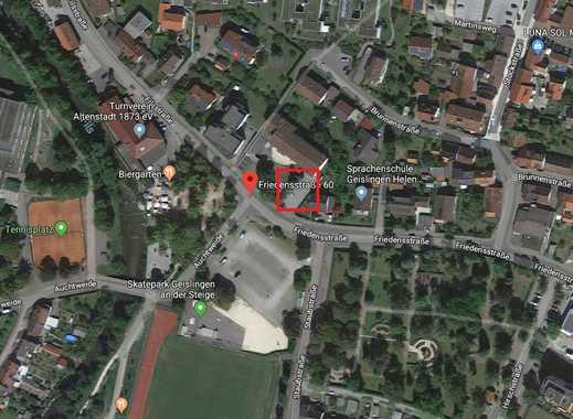 Stellplätze (auch für Wohnmobile) vor der Friedensstr. 60