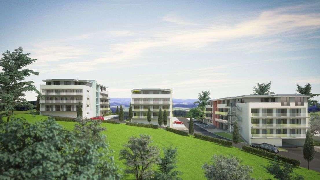 Erstbezug möbliertes 1-Zimmer Appartment mit Einbauküche und West-Balkon in Pfarrkirchen