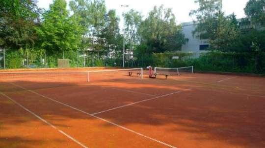 Tennisplatz<