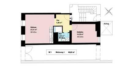 1 Zimmer mit Wohnküche im trendigen Schlachthofviertel*EBK*Keller* in Ludwigsvorstadt-Isarvorstadt (München)