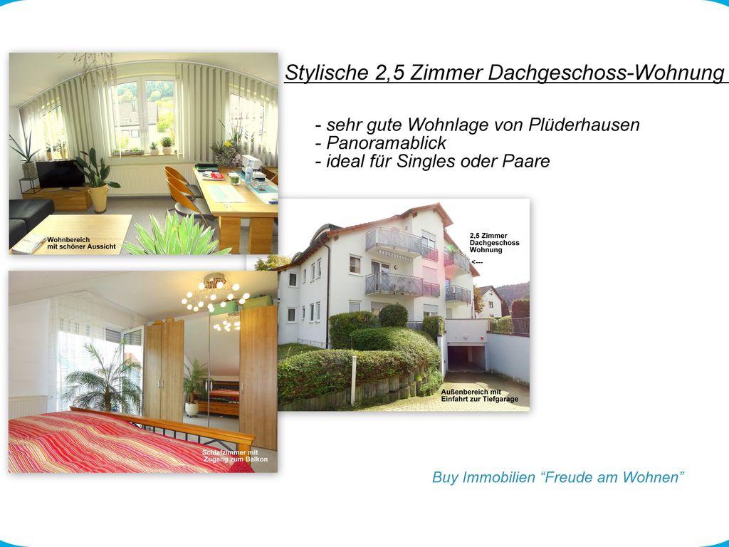 stylische 2 5 zimmer dachgeschoss wohnung. Black Bedroom Furniture Sets. Home Design Ideas