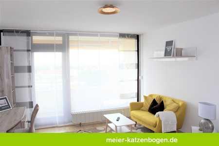 Möbliertes Apartment mit Blick über die Stadt! in Schwabing (München)
