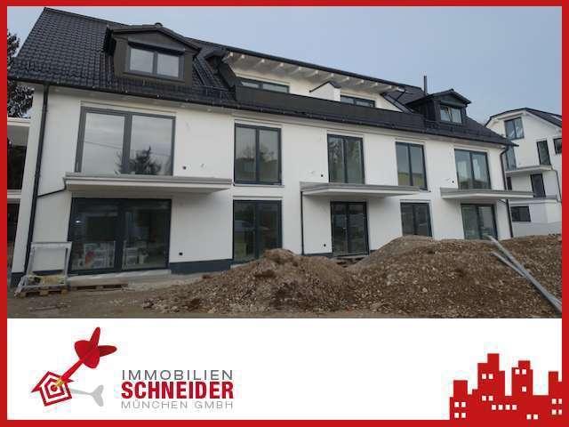 IMMOBILIEN SCHNEIDER - Neubau-Erstbezug schöne 2 Zi.-EG-Maisonette-Whg. mit Hobbyraum & Einbauküche in