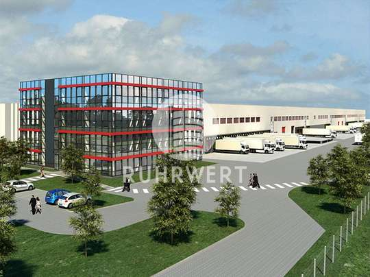 Visualisierung Außen 3 von Exklusive Hallenflächen - Logistikprojekt im Industriegebiet