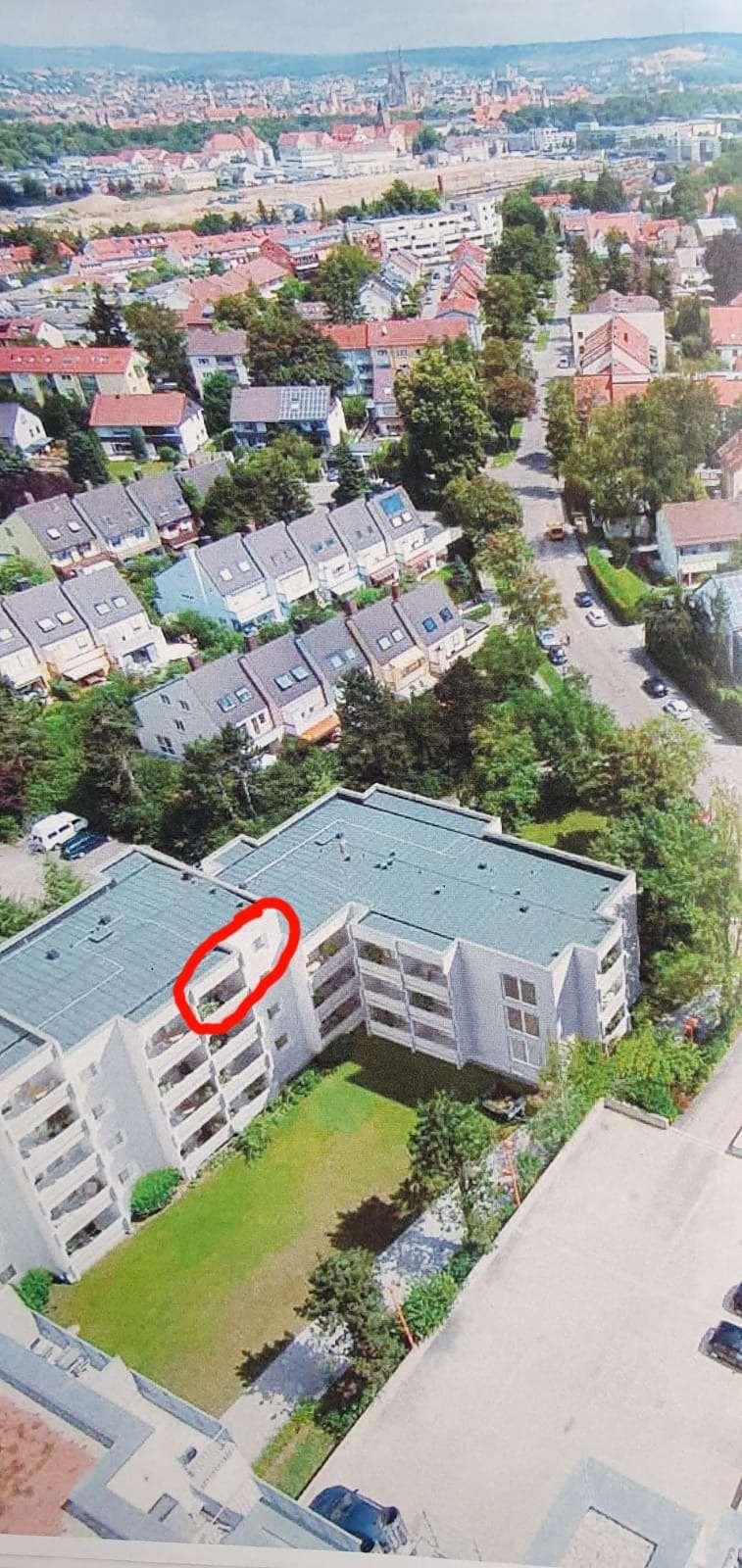 Wunderschöne, komplett sanierte 3-Zimmer-Wohnung mit 2 Balkonen zur Miete in Regensburg in