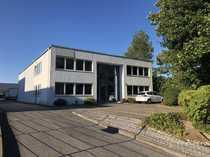 Büro- Lagergebäude mit Freifläche für