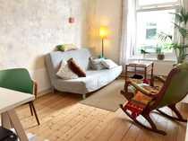 Ruhige wunderschöne 2 Zimmer Altbauwohnung