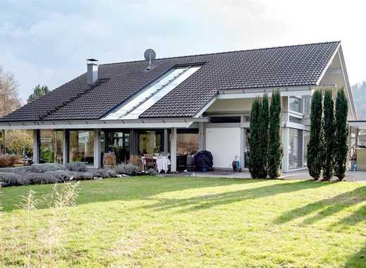 Lichtdurchflutetes Huf-Traumhaus, ca. 213 m² Wfl., großer Garten, höchste Qualität, ruhige Lage!