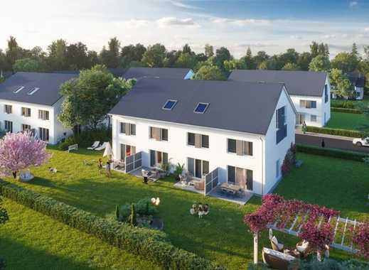 Ihr NEUES ZUHAUSE in Leipzig-Miltitz! Reiheneckhaus inkl. Grundstück & Terrasse für die Familie