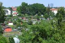Von oben über die Stadt