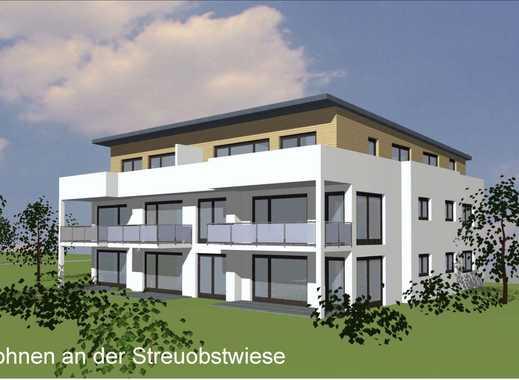 Exklusive 4 Zi-Eigentumswohnung im EG mit Gartenanteil - Wohnen an der Streuobstwiese (Haus B Wo 1)