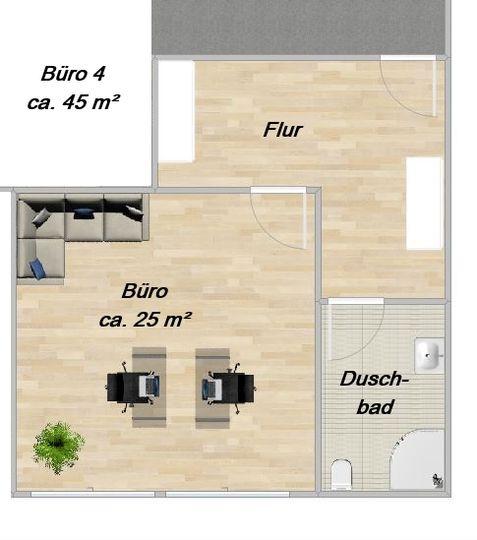 O 4 ca. 45 m²