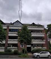 Gepflegte Dachgeschosswohnung mit drei Zimmern