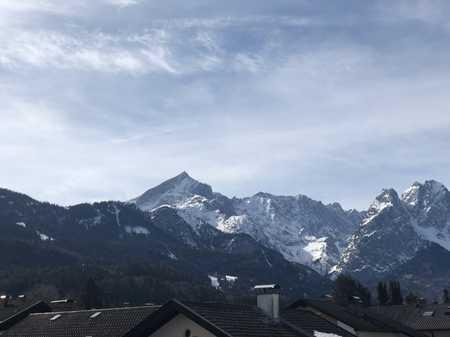 Gepflegtes 1-Zimmer-Appartment in zentraler Lage mit tollem Bergblick in Garmisch-Partenkirchen in Garmisch-Partenkirchen
