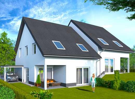 AB 309.000 €  NEUBAU DHH in TOP LAGE! Hochwertige, moderne und massive ⏏︎ BOOS Häuser.