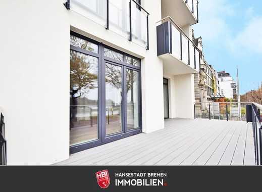Ostertor / Anlage: Stilvoll und komfortabel wohnen am Osterdeich mit direktem Blick auf die Weser