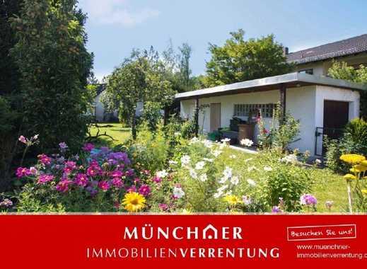 München, Allach - Unbebautes Grundstück mit Bauvorbescheid für Einfamilienhaus