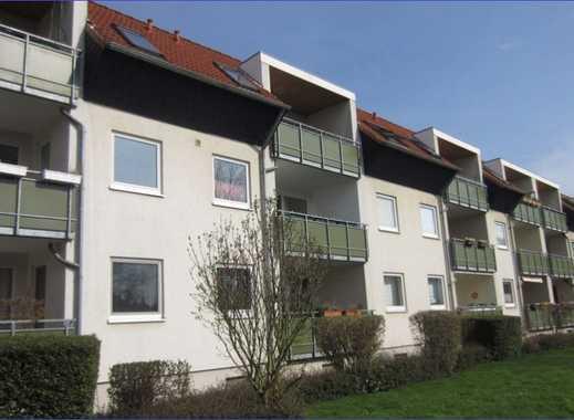 Zentrums nahe 4-Zimmer-Wohnung mit Loggia ins Grüne