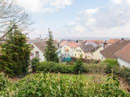 Panoramablick vom Garten