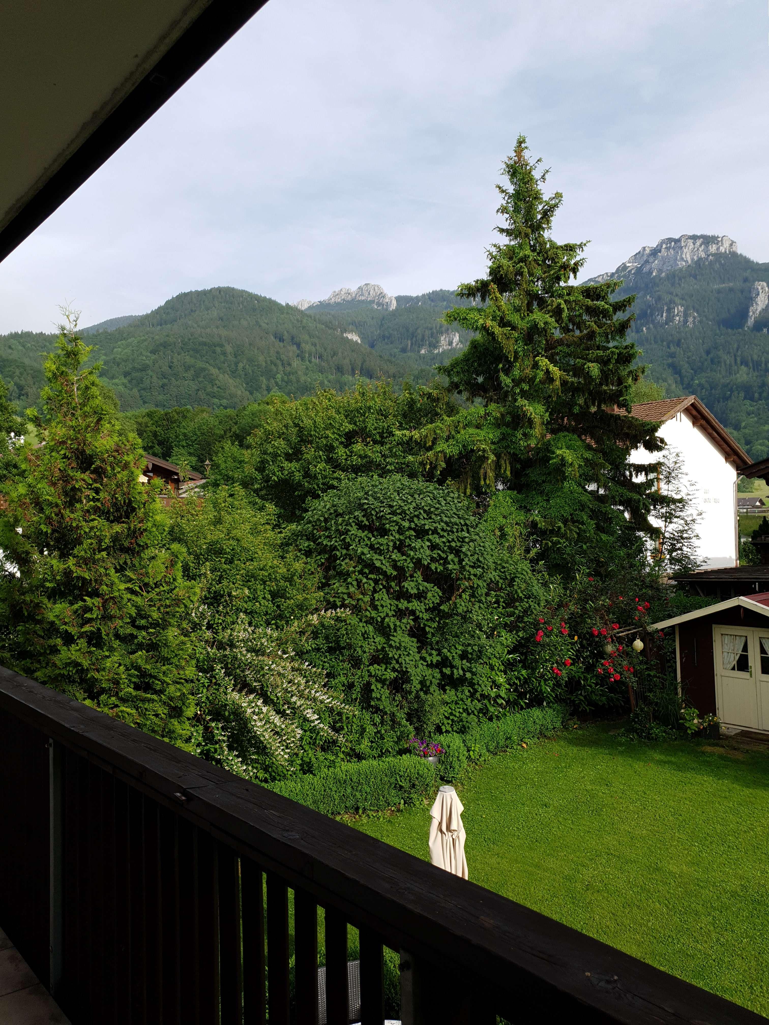 Modernisierte 2-Zimmer-Wohnung mit Balkon in Aschau im Chiemgau